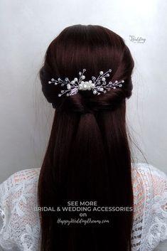 MARIAGE Spirale Bobines Gems Mariée Cheveux bijoux bijoux Springs Pack de 12 Strass