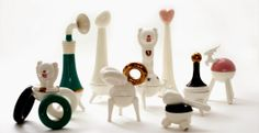 A line of useful ceramics by STUDIO KAHN, ISRAEL