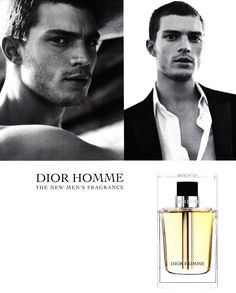 Jamie Dornan for Dior Homme Fragrance Campaign