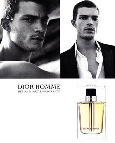 Jamie Dornan for Dior Homme Fragrance Campaign