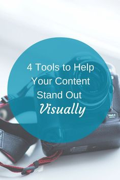 4 Tools to Help Your Content Stand Out Visually - Today's marketers are using visual content to capture their readers' interest and attention.  In this article I'll show you four of the best free tools you can use to create strong visual content for social media. www.socialmediaex...