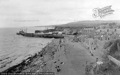 Watchet,Town And Beach 1906, from Francis Frith