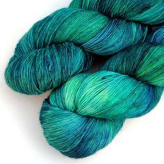 SW Merino Vera Lace Yarn  Bright Salt Marsh 830 by JulieSpins   # Pin++ for Pinterest #