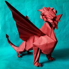 How To Make Origami Dragon Claws Step By