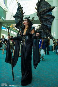 Maleficent #cosplay | San Diego Comic Con 2014
