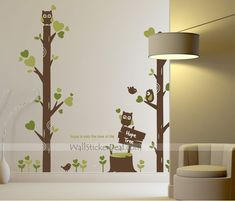 Hope Tree Wall Stickers Tree Decals, Kids Wall Decals, Wall Stickers, Stencils, Kids Room, Indoor, Diy Crafts, Tree Wall, Living Room