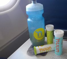 It can be hard to #stayhydrated, particularly on airplanes. Traveling by plane is dehydrating, and an additional 8 oz. of water per hour is suggested. Add Nuun, and the light refreshing flavor will keep you reaching for your bottle.