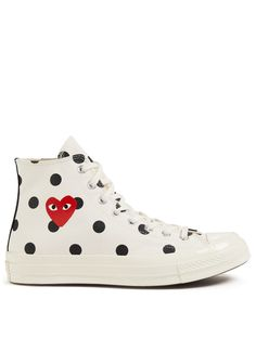 Cdg Converse High, Converse All Star, Cool Adidas Shoes, Skechers Work Shoes, Martial Arts Shoes, High Tops, Comme Des Garcons Play, Running Shoes For Men, Chuck Taylors