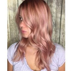 redken rose gold blonde