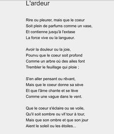 Un de mes poèmes préférés d'Anna de Noailles ...