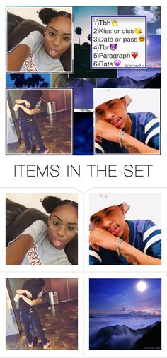"""""""guy with the tattoos . *laughing emoji*"""" by dis-trict ❤ liked on Polyvore featuring art"""