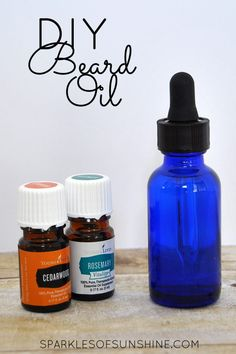 Save money by making beard oil at home. This simple DIY Beard Oil recipe uses only a few ingredients with essential oils to make a natural alternative to store bought products. Homemade Beard Oil, Diy Beard Oil, Best Beard Oil, Homemade Gifts, Homemade Beauty, Essential Oil For Men, Oils For Men, Yl Essential Oils, Yl Oils