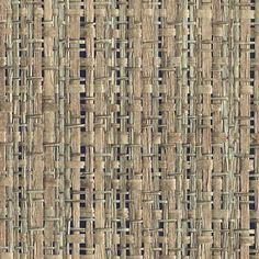 Thanks for shopping Mahones Wallpaper Shop for pattern 1864 pattern name Woven Rattan color Indigo by Phillip Jeffries Wallcovering. Seagrass Wallpaper, Wall Wallpaper, Wallpaper Ideas, Rattan, Wicker, The Brambles, Japanese Paper, Pattern Names, Contemporary Furniture