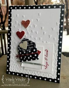Gonna be honest with you-all ... I made this card standing up ... mostly. My craft room is STILL under sheets of plastic. AND a disaster!...