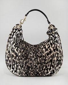 e51175543ece Jimmy Choo Leopard-Print Hobo Fendi Bags
