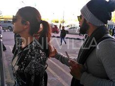Virat Kohli and Anushka Sharma clicked at Dehradun airport!