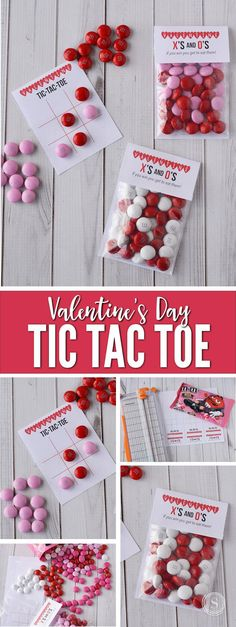 Keep the kids busy this Valentine's Day with this Valentine's Day Tic Tac Toe game.
