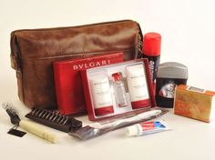 First Class Travel: What's Inside Airline Amenity Kits