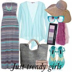 beach striped dress s