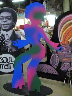 1970's theme Female Disco Dancer by The Theme Factory of Philadelphia, via Flickr