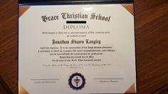 Grace Christian Homeschool: Review of HomeschoolDiploma.com #HSReview #HSGraduation #Diplomas