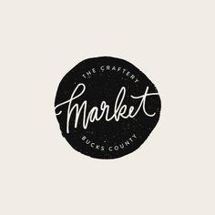 The Craftery Market Logo - Alisa Wismer Design + Illustration. #logo #logoideas #logodesign #logodesigninspiration #modernlogo #minimallogo #creativelogo