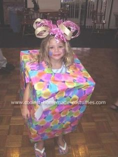 birthday present costume... my daughters birthday is 2 days before halloween, i believe this is what ill dress her in at the school costume contest this year :)