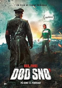 High resolution official theatrical movie poster ( of for Dead Snow Red vs. Dead [aka Død Snø Image dimensions: 800 x Directed by Tommy Wirkola. Horror Movie Posters, Horror Films, Film Posters, Martin Starr, Dead Snow, Zombie News, Festival Internacional, Dead Zombie, English Movies