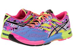 ASICS GEL-Noosa Tri™ 10 Powder Blue/Black/Hot Pink - Zappos.com Free Shipping BOTH Ways