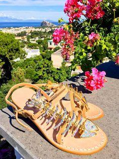 Il bello di vivere ad Ischia... enjoy today 😍😍😍 #ischia #sandals #sandali #handmade
