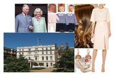 Being invited for lunch at Clarence House and spending the rest of the day with Charles and Camilla by charlottedebora on Polyvore featuring polyvore fashion style Dolce&Gabbana Gianvito Rossi Roberto Coin Blue Nile Laranjinha Petit Bateau clothing