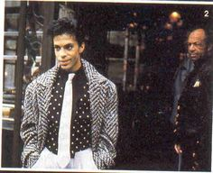 Prince & the late John L. Nelson (Father)