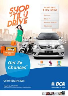 Tunjungan Plaza: Get 2x Chances (BCA)