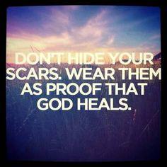 ❥ Show the world that God heals!
