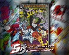 ADVENTURES OF SUPERMAN # 504 Reign of supermen $ 80.00 Para más información, contáctanos en http://www.facebook.com/la5aDimension
