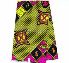 www.cewax.fr aime la boutique de TessWorldDesigns sur Etsy / Meilleur qualité jaune et Fuchsia Ashanti tabouret suprême cire Hollande par le pagne de vêtements de Cour africaine africaine tissu / WP783B