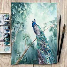 Watercolorist: @art.vertex #waterblog #акварель #aquarelle #drawing #art #artist #artwork #painting #illustration #watercolor #aquarela