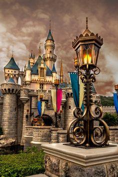 Sleeping Beauty Castle at Hong Kong Disneyland by Edmond Tam on 500px