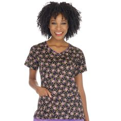 When It's Time To Get Spooky, Don't Look Any Farther Than Scrubin For All Your Halloween Scrub Needs! Choose From a Variety of Halloween Print Scrubs. Halloween Scrubs, Halloween Prints, Cute Halloween, Scrub Tops, Top Sales, V Neck Tops, Female, My Style, Casual
