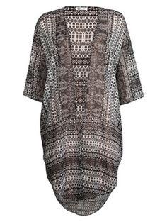 Grå - Kimono