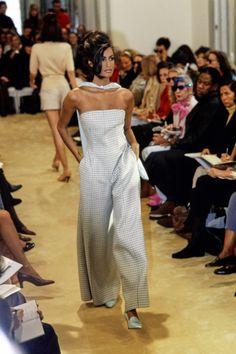 Prada Spring 1992 Ready-to-Wear Fashion Show - Yasmeen Ghauri