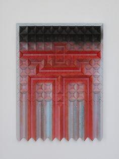 Devin Farrand  / blue black red 1, 2012
