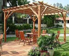 how to build an arbor over a patio | ... you are able to discover how to construct a pergola over a weekend