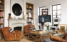 chair placement /  greige: interior design ideas and inspiration for the transitional home by christina fluegge