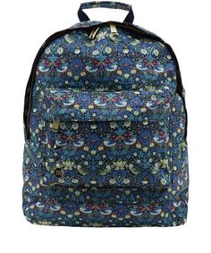 Obsessed. Mi Pac Navy Strawberry Thief Liberty Backpack
