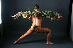 The gorgeous Gavin from Sarah s book, Botanical Art