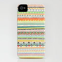 Pattern No.3 iPhone Case by Sandra Dieckmann - $35.00