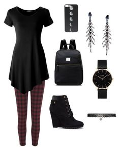 """""""My style #1"""" by meli-ketto on Polyvore featuring mode, River Island, Plukka, Radley, CLUSE et Betsey Johnson"""