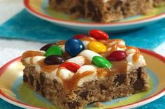 Gooey Candy and Chocolate Bars
