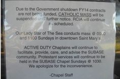 Government Shuts down Catholic Services on Navy Base; Priest threatened with arrest; TMLC Files Federal Lawsuit - Thomas More Law Center Catholic Mass, Catholic Priest, Roman Catholic, Government Shutdown, Obama Administration, Navy Base, Freedom Of The Press, Bill Of Rights, Political Party